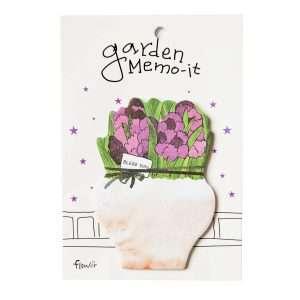 """Стикеры """"Garden memo"""" (фиолетовые цветы)"""