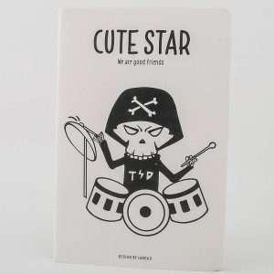 """Тетрадь """"Cute star-2"""", А5 (№2)"""