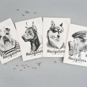 "Тетрадь ""Navigators"", В5 (хаски)"
