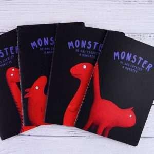 """Тетрадь """"Monster"""", А5 (3)"""