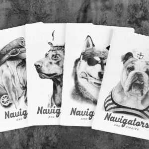 "Тетрадь ""Navigators"", А5 (бульдог)"
