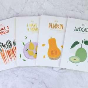 "Тетрадь ""Fruits and veggi"", А5 (морковь)"