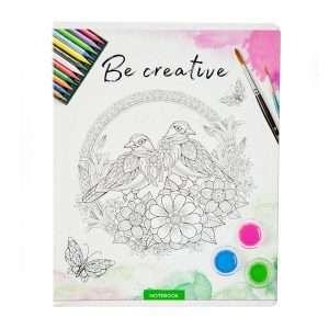 "Тетрадь ""Рисунки. Be creative"", А5, 48л"