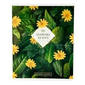"""Тетрадь """"Цветы. Leaves&Flowers"""", А5, 48л"""