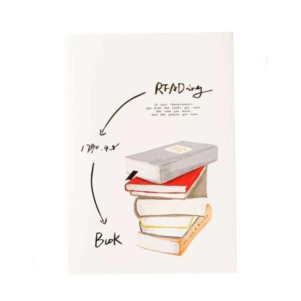 """Тетрадь """"I love books"""", В5 (№4)"""