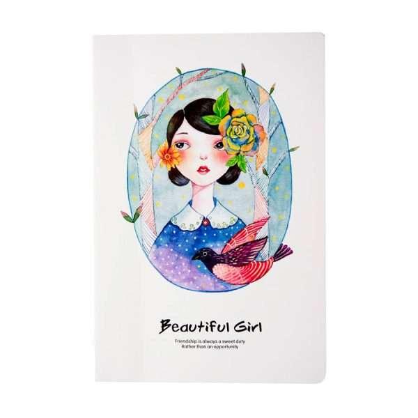 """Тетрадь """"Beautiful girl"""", А5 (№1)"""