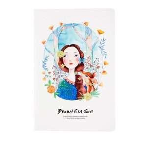 """Тетрадь """"Beautiful girl"""", А5 (№2)"""