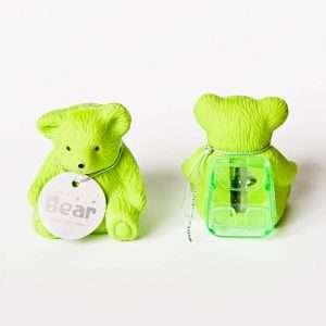 "Ластик c точилкой ""Bear"" (зеленый)"