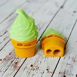 "Точилка ""Мороженое"" (зеленая)"