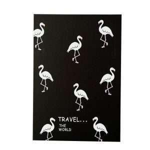 """Зеркало складное """"Flamingo"""" (черное)"""