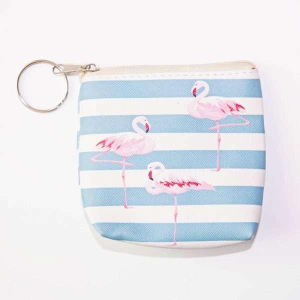 """Кошелек """"Flamingo-2"""" (голубые полосы)"""