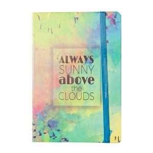 """Блокнот """"Above the sky"""", А6 (№4)"""