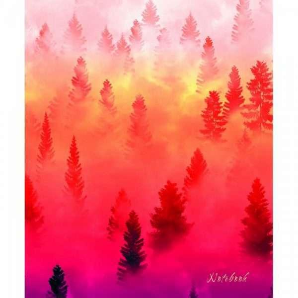 "Тетрадь ""Туман над лесом"", А5, 120л"