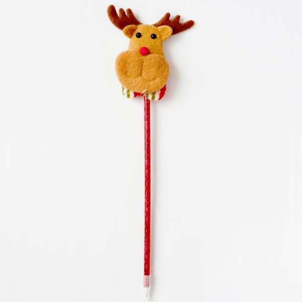 """Светящаяся ручка """"Санта-Клаус"""""""