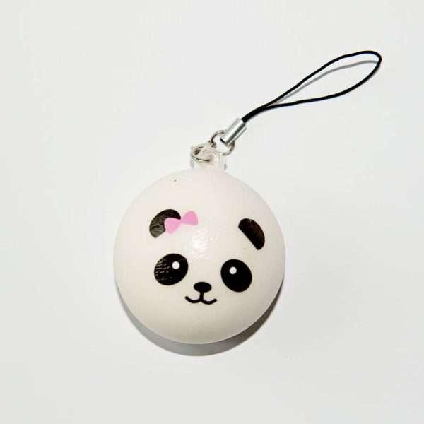 Сквиши-брелок мелкий (панда)