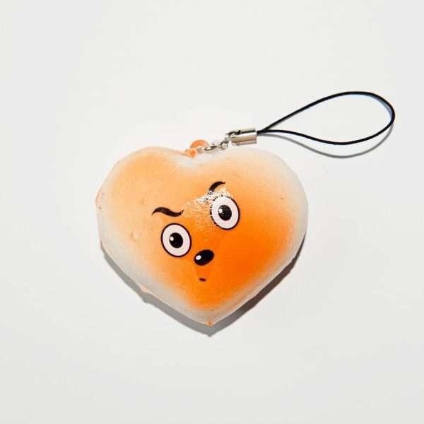 Сквиши-брелок средний (сердце)