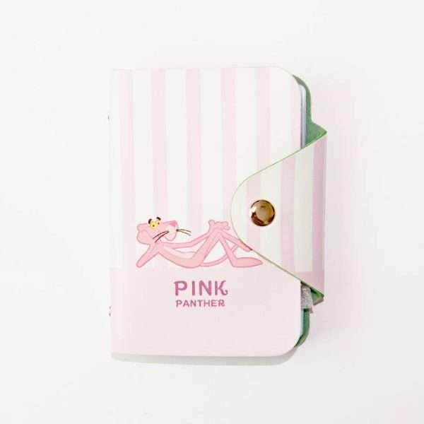 """Обложка для карт """"Pink panther"""" (лежащая пантера)"""