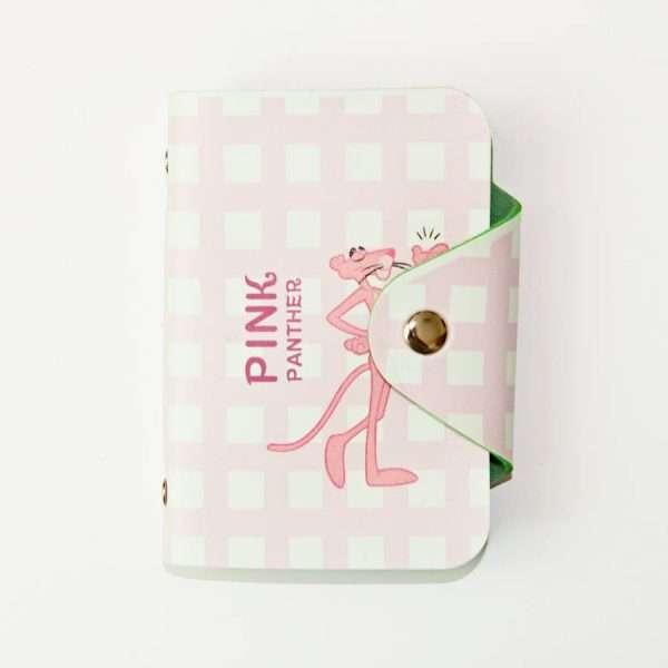 """Обложка для карт """"Pink panther"""" (клетка)"""