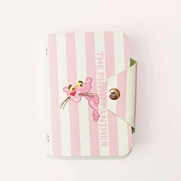 """Обложка для карт """"Pink panther"""" (полоска)"""