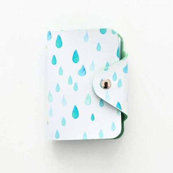 """Обложка для карт """"Fresh style""""(дождь)"""