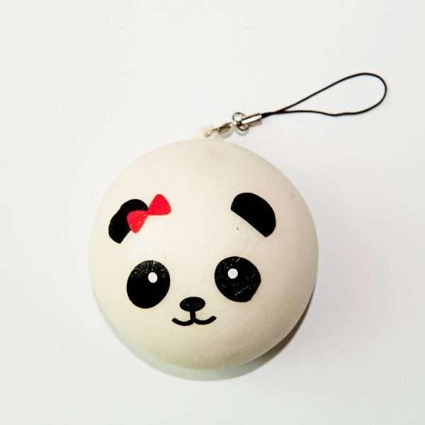 """Сквиши """"Panda"""" (красный бант)"""