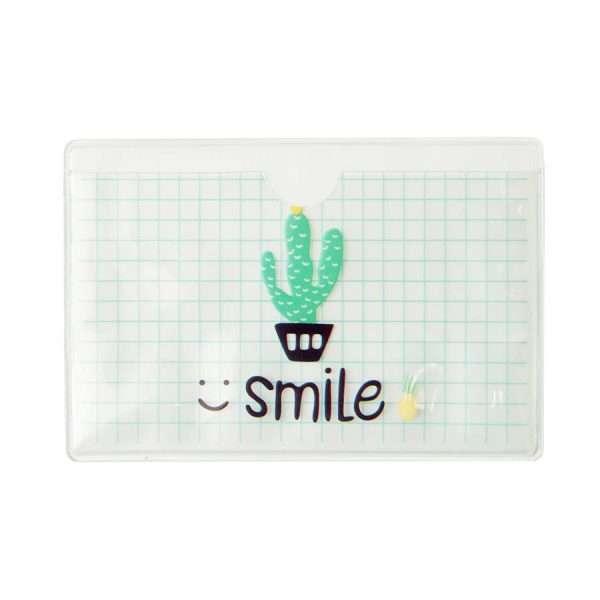 """Обложка для проездного """"Cactus"""" (клетка)"""