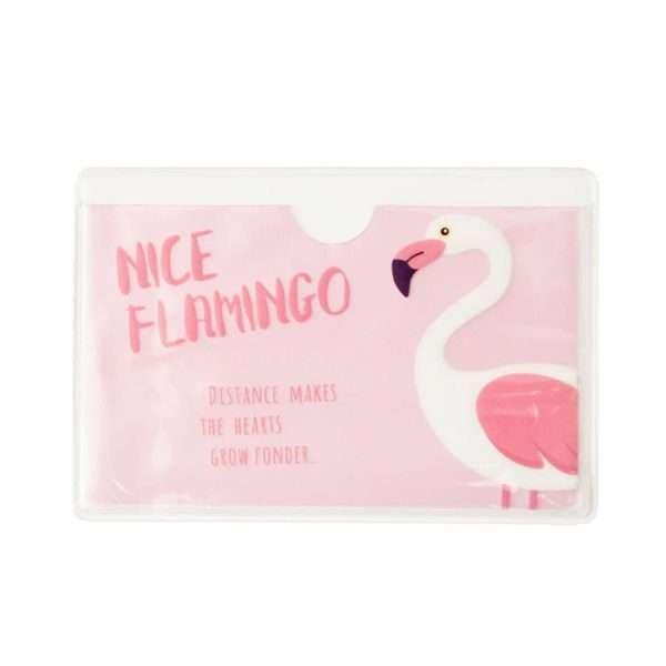 """Обложка для проездного """"Flamingo"""" (nice)"""