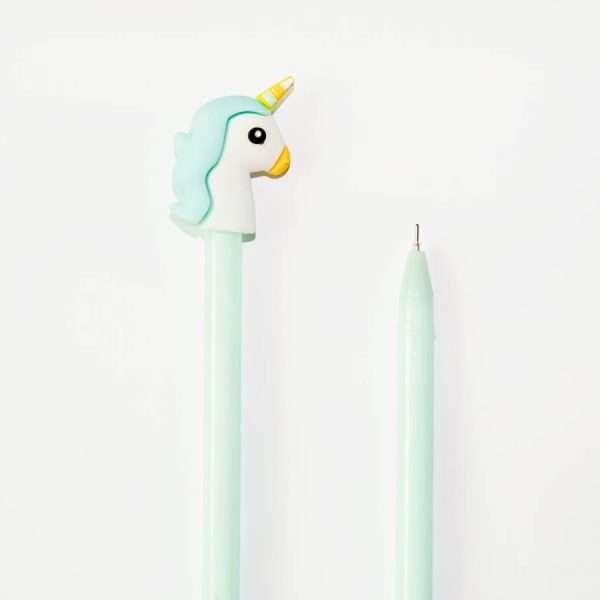 Ручка гелевая «Единорог» (мятная)