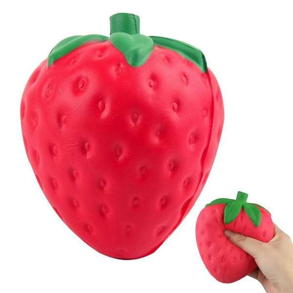 "Сквиши ""Strawberry"" (красная)"
