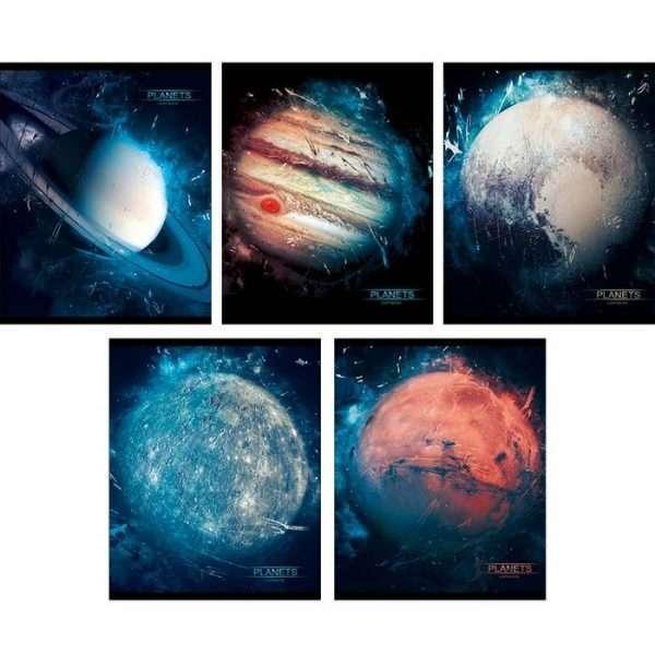 """Тетрадь """"Парад планет"""", А5, 48л"""