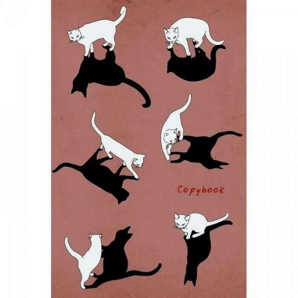 """Тетрадь """"Графика. Кот и его тень"""", А4, 96л"""