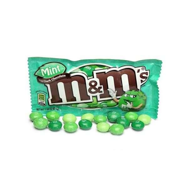 """Драже """"M&M`s"""" (мята, темный шоколад)"""