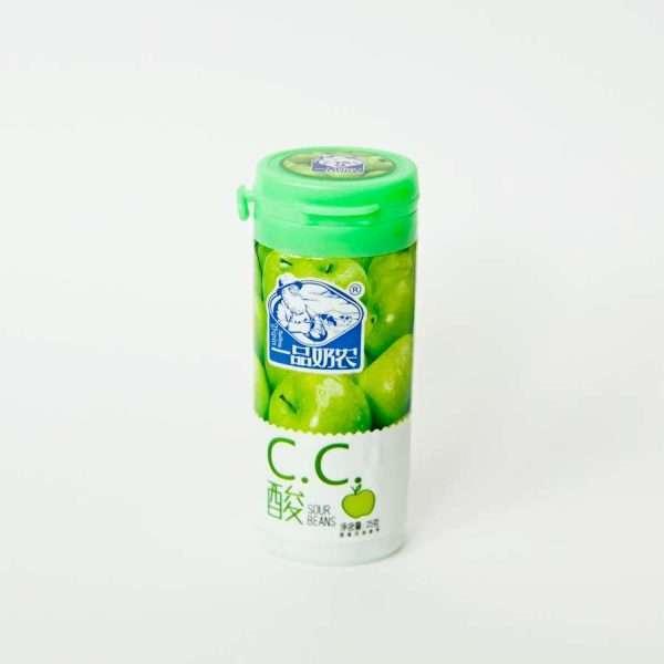 """Конфеты жевательные """"С.С.Sour Beans"""" (яблоко)"""