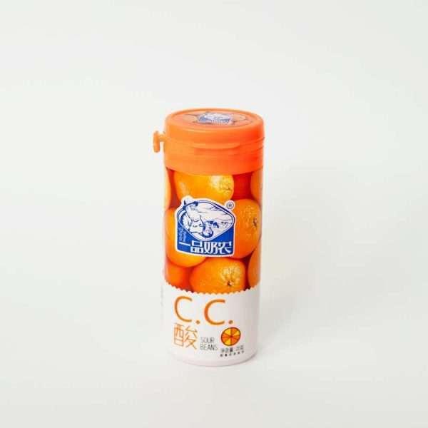 """Конфеты жевательные """"С.С.Sour Beans"""" (апельсин)"""