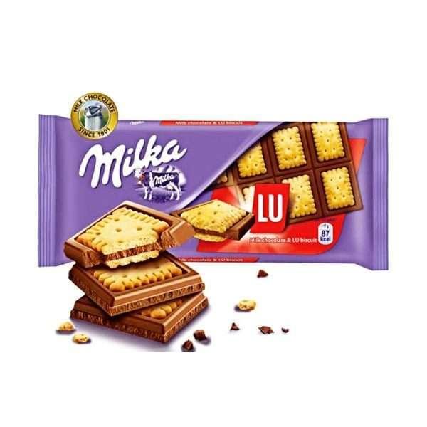 "Шоколадная плитка ""Milka LU"""