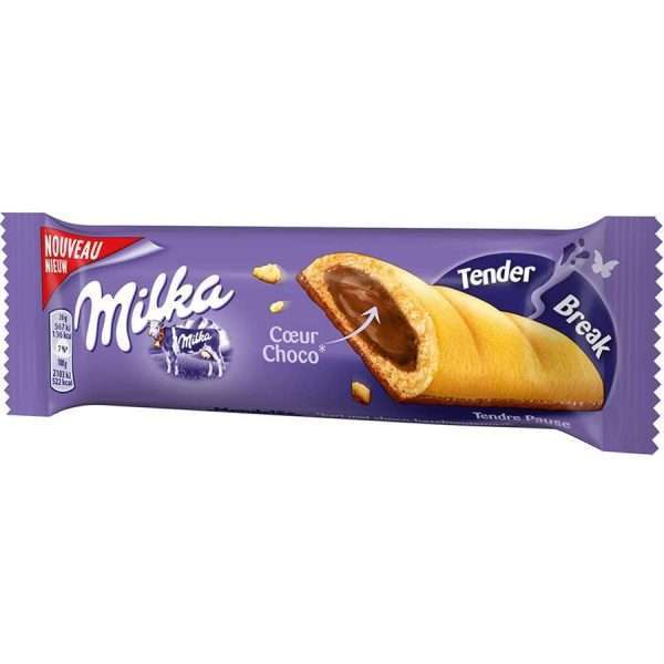 "Шоколадный батончик ""Milka Tender Break White"""