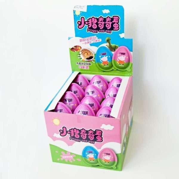 """Яйцо с игрушкой """"Peppa"""" (для девочек)"""