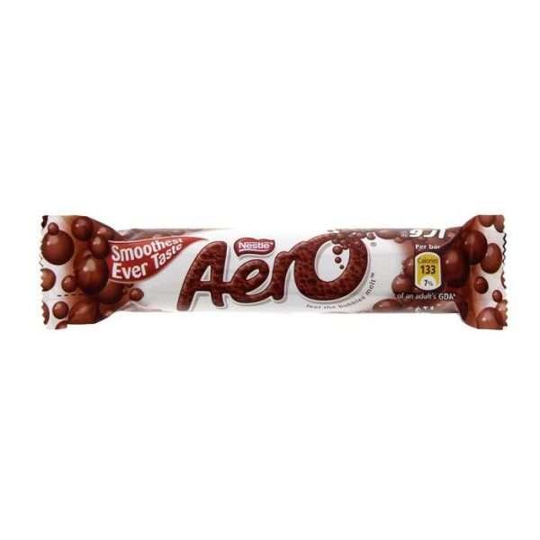 """Шоколадный батончик """"Aero Milk"""""""