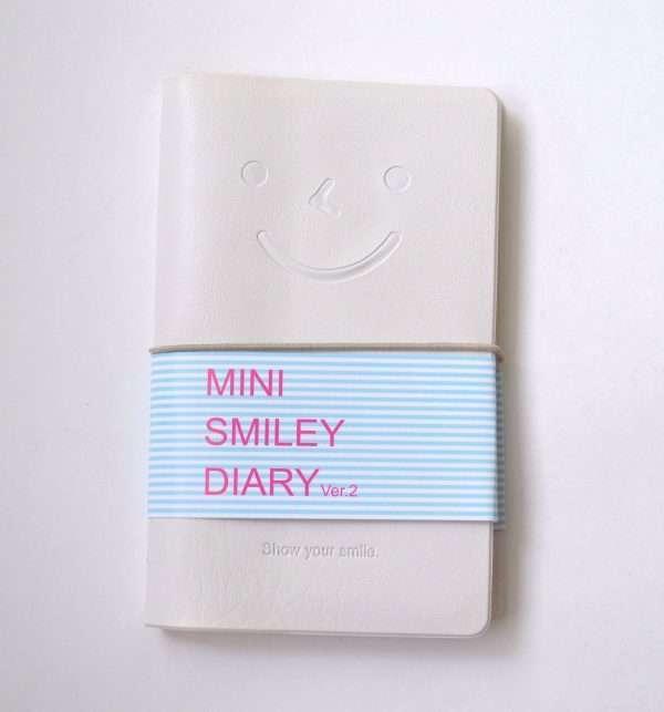 "Блокнот ""Mini smile diary"" (белый)"