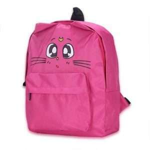 """Рюкзак """"Cute cat"""" (ярко-розовый)"""