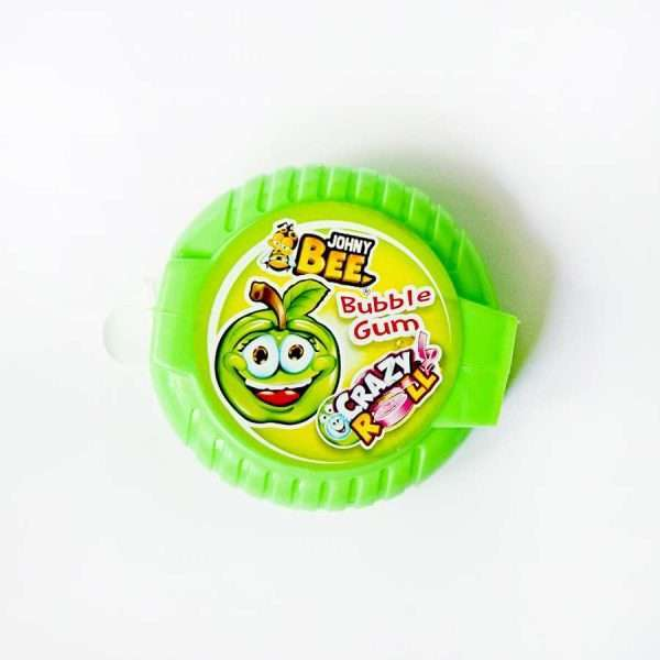 "Жевательная резинка ""Johny Bee Crazy Roll"" (зеленая)"