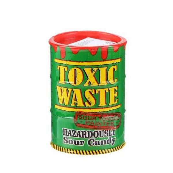 """Конфета """"Toxic Waste"""" (кислые + тату, зеленые)"""