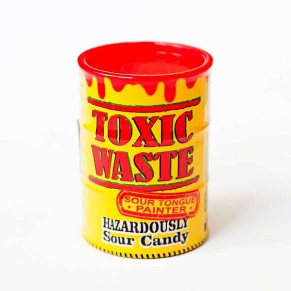 """Конфета """"Toxic Waste"""" (кислые + тату, желтые)"""