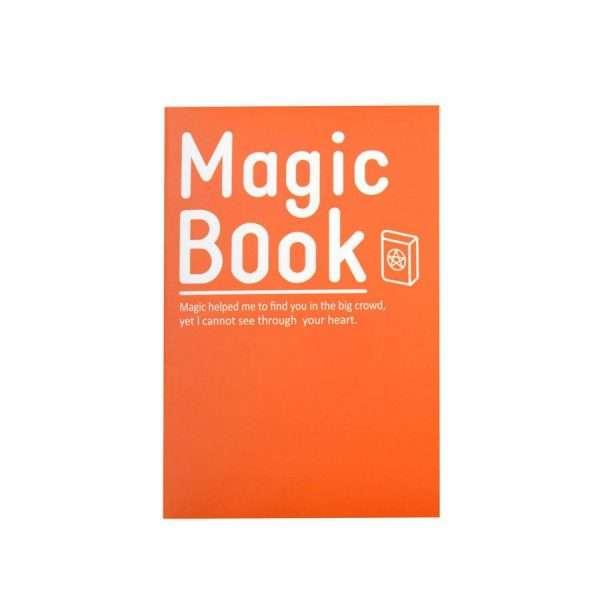 "Блокнот ""Magic book"" (оранжевый)"