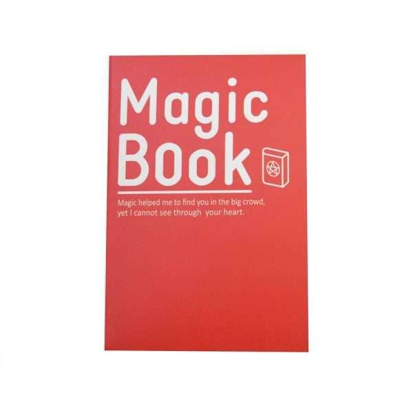 """Блокнот """"Magic book"""" (красный)"""