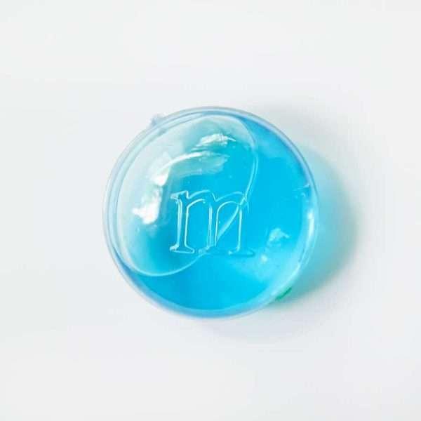 """Slime (лизун) """"M&M"""" (синий)"""