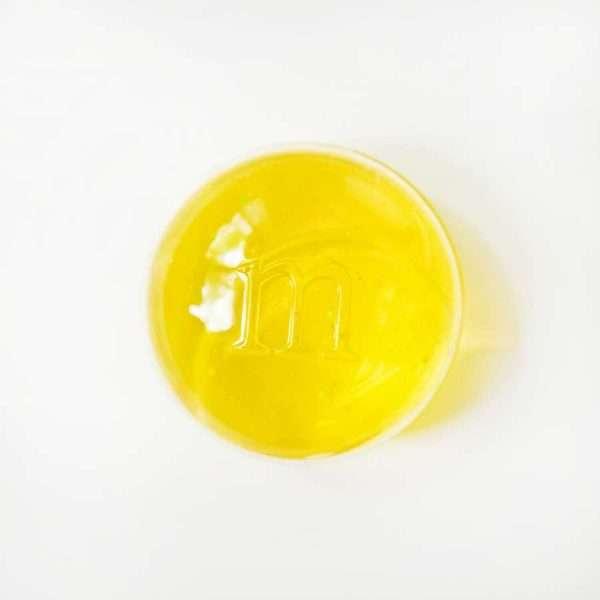 """Slime (лизун) """"M&M"""" (желтый)"""