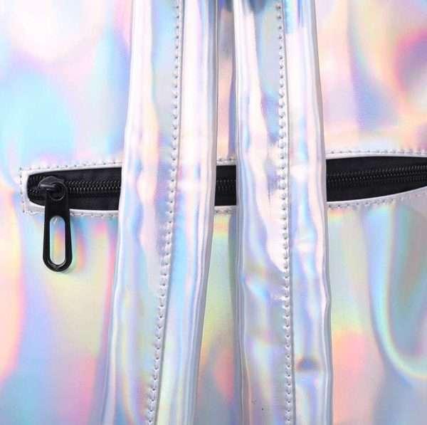 """Рюкзак """"Holographic"""" (серебро)"""