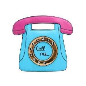 "Сумка ""Call me"" (голубая)"