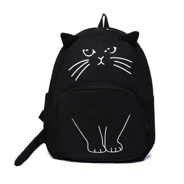 """Рюкзак """"Black cat"""""""